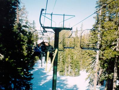Ski Lift from yesteryear